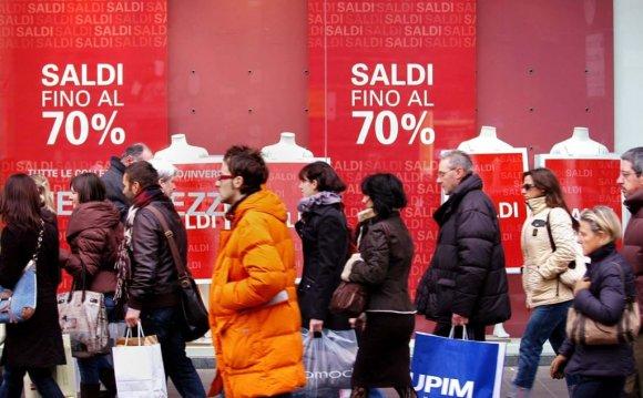 Период распродаж в Милане