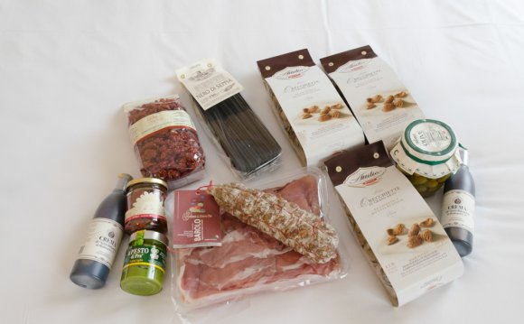 Подарки из Милана, Италия