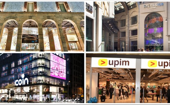 Миланские торговые центры